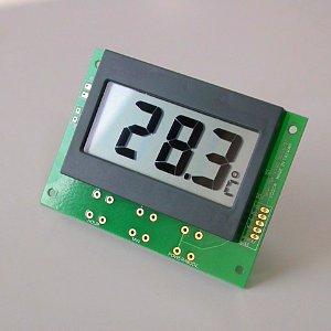 Thermomètre numérique, température ambiante, in / out porte