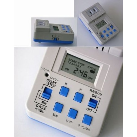 7-Channels AC Power On/Off Time Switch, KS1507