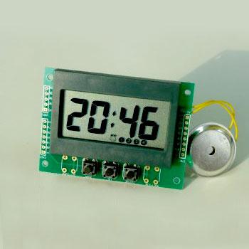 digital LCD perpetual time module