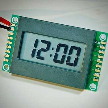 4XC-A0J, 12-hour LCD clock module